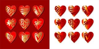 Hearts for you Stock Image