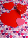 Hearts for your Valentine Royalty Free Stock Image
