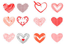 heartset Стоковое Фото