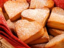 Heartshape Cookies Royalty Free Stock Photos