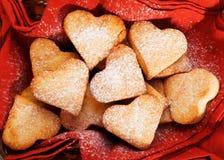 Heartshape Cookies Royalty Free Stock Photo