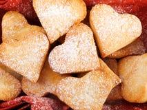 Heartshape Cookies Stock Photos