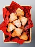 Heartshape Cookies Stock Photo
