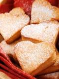 Heartshape Cookies Stock Photography