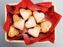 Heartshape Cookies Royalty Free Stock Photography