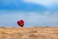 Heartshape souvenir Stock Photography