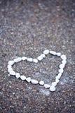 heartshaped камни Стоковая Фотография