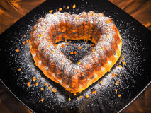 Heartshaped Cake Stock Photo