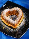 Heartshaped Cake Stock Image