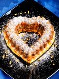Heartshaped Cake Stock Photography