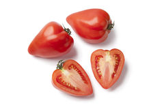 Heartshaped French Tomatoes Stock Photo