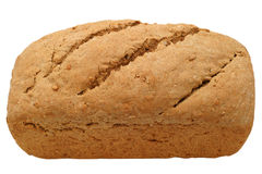 Hearty Bread Loaf - close-up royalty free stock photo