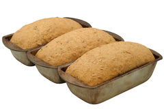 Hearty Bread Rising - diagonal Royalty Free Stock Photography