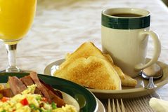 Hearty Breakfast Royalty Free Stock Photography