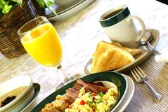 Hearty Breakfast Stock Photos