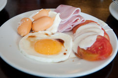 Hearty breakfast Stock Images