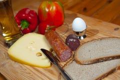 Hearty breakfast Royalty Free Stock Photography