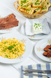 A hearty breakfast Royalty Free Stock Images