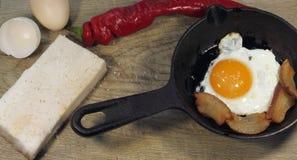 Hearty breakfast Royalty Free Stock Photos