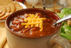 Hearty chili Royalty Free Stock Images
