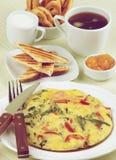 Hearty Classic Breakfast Royalty Free Stock Photos