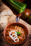 Hearty goulash soup Royalty Free Stock Photo
