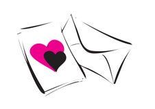 Hearty greeting - vector Royalty Free Stock Photos