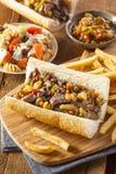Hearty Italian Beef Sandwich Royalty Free Stock Photo