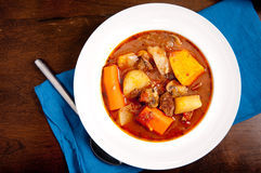 Hearty lamb stew Royalty Free Stock Photography