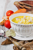 Hearty soup Royalty Free Stock Image