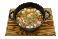 Hearty stew Stock Image