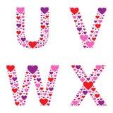 Hearty UVWX Stock Photos