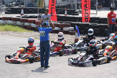 Heat 2 - Rotax Senior Max / HKKC A / B Royalty Free Stock Image