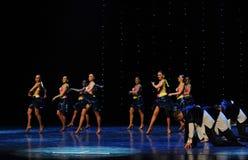 Heat in all directions Bikini-The rumba-the Austria's world Dance Royalty Free Stock Photography