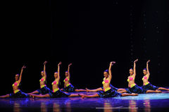 Heat in all directions Bikini-The rumba-the Austria's world Dance Stock Images