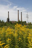 Heat And Power Plant Royalty Free Stock Photos
