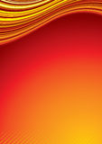 Heat background. For your text-vector royalty free illustration