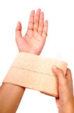 Heat bandage Royalty Free Stock Photography