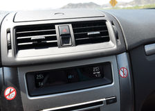 Heat in the car Royalty Free Stock Photo