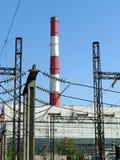 Heat electropower station Stock Photos