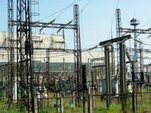 Heat electropower station Stock Image