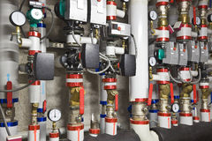 Heat exchanger apparatus Stock Image