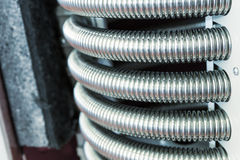 Heat exchanger device Stock Image