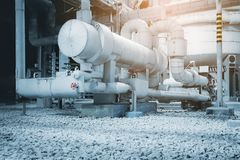 Heat exchanger Royalty Free Stock Photography
