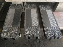 Heat exchanger plate royalty free stock photography