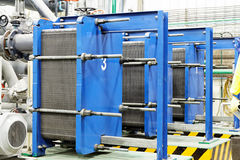 Heat exchanger Stock Image
