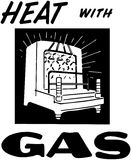 Heat With Gas Royalty Free Stock Photos