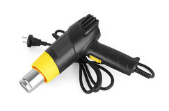 Heat gun. Isolated in a white background Stock Photos