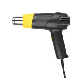 Heat gun. Isolated in a white background Stock Photo