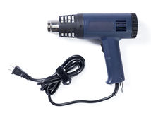 Heat gun. Side view of a heat gun Royalty Free Stock Image